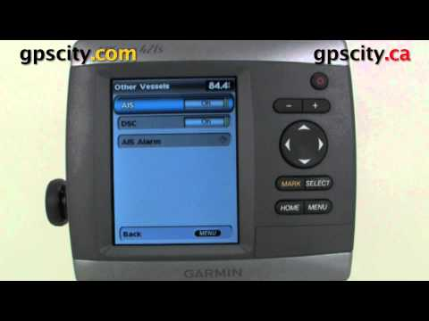 Garmin GPSMap 421s Video Manual - Other Vessels via AIS and