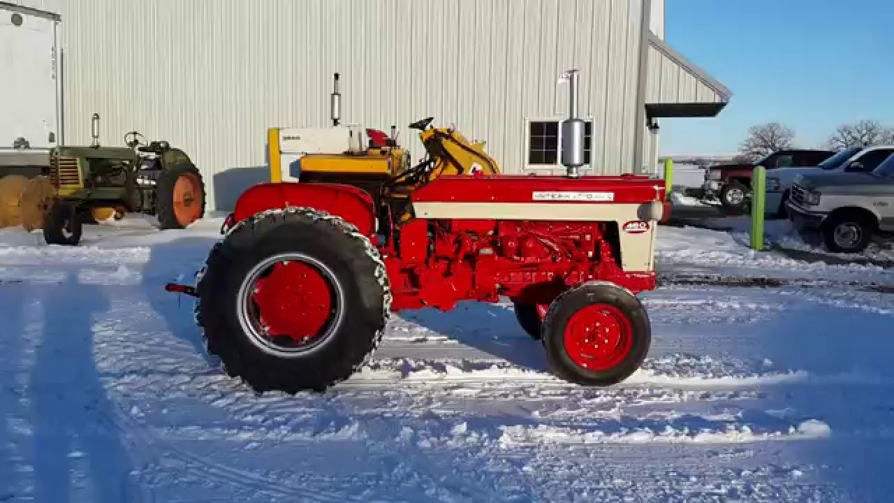 Ih 460 Utility Tractor : Big iron online auction international utility