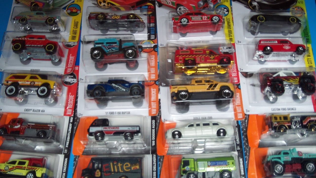 Hot Wheels And Matchbox Quot Together For The First Time Quot 2016