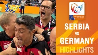 Highlights | Serbia vs Germany | LOTTO EUROVOLLEY POLAND 2017