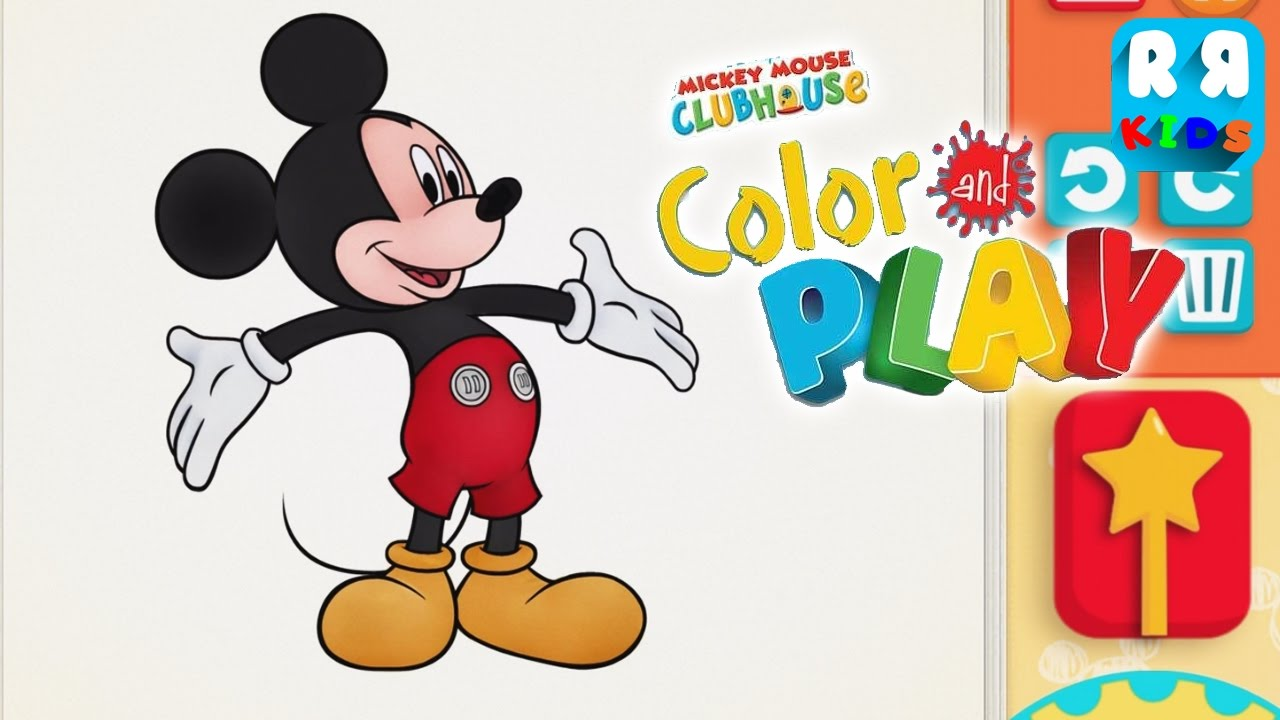 Mickey Mouse Pictures To Color