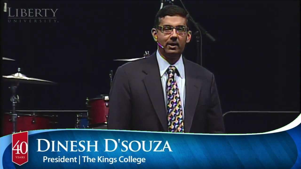 Dinesh D'Souza - Liberty University Convocation