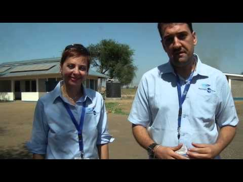 Interview with NP CEO, Doris Mariani, and Thiago Wolfer from Nonviolent Peaceforce in South Sudan