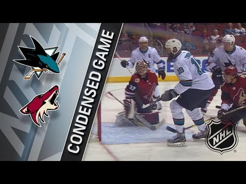 San Jose Sharks vs Arizona Coyotes – Jan. 16, 2018 | Game Highlights | NHL 2017/18. Обзор матча