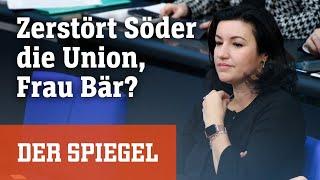 Dorothee Bär im SPIEGEL-»Spitzengespräch«: Zerstört Söder die Union?