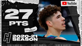 LaMelo Ball 27 Pts 9 Ast Full Highlights vs Bucks | January 30, 2021 | 2020-21 NBA Season