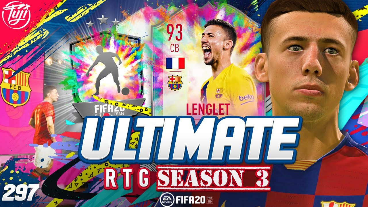 MOST OP DEFENDER?!? 93 SUMMER HEAT LENGLET! ULTIMATE RTG #297 - FIFA 20 Ultimate Team Road to Glory