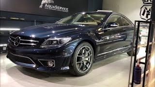 Mercedes Benz CL63 amg, полировка кузова, стекла, нанесение керамики, замена стекла, ремонт вмятин,