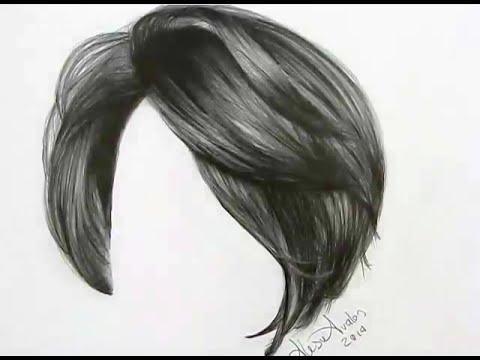 mo dibujar cabello lpiz