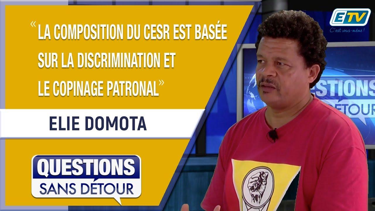 Questions Sans Détour avec Elie DOMOTA
