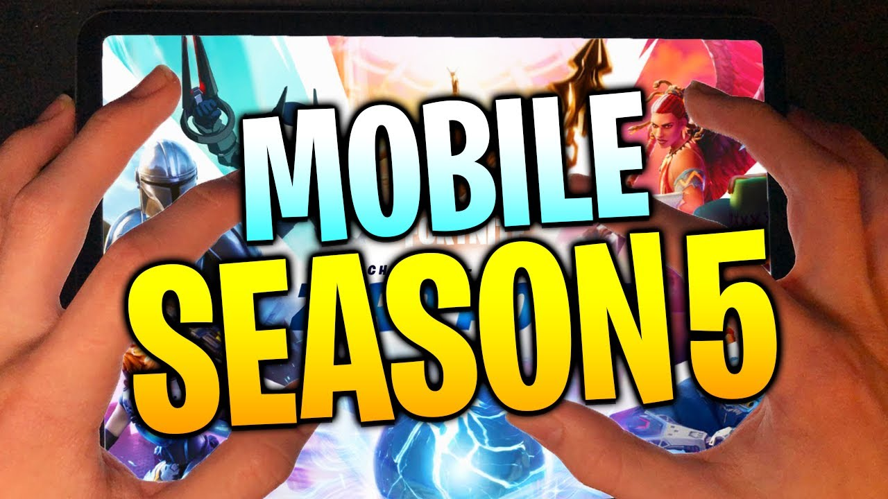 How To Play SEASON 5 on Fortnite Mobile (iOS)