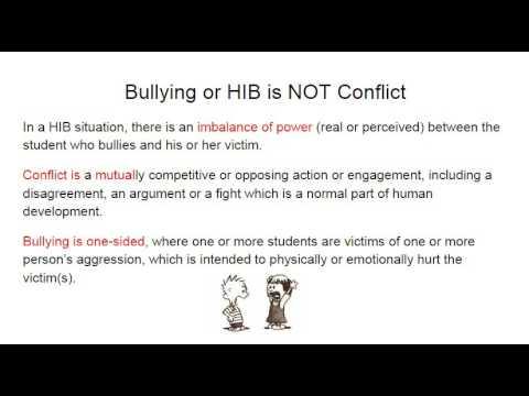 HIB Training for Colls Oaklyn Schools