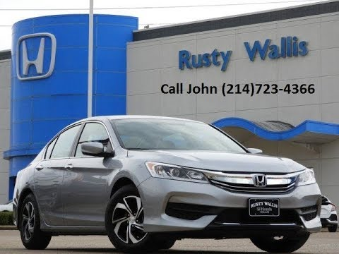 used cars 39 17 honda accord lx at rusty wallis by john hernandez 214 723 4366 youtube. Black Bedroom Furniture Sets. Home Design Ideas