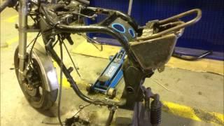 démontage moteur Bandit 1200