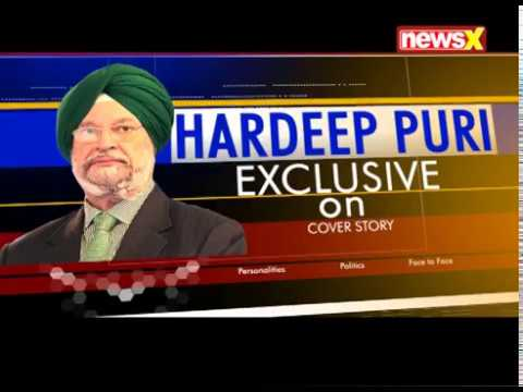 Hardeep Puri exclusive on Cover Story