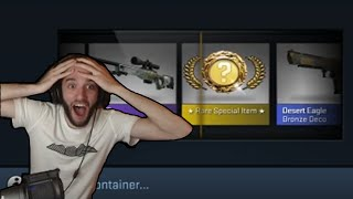THE GOLDEN KNIFE! The Legend of the 100 Chroma 2 Cases!