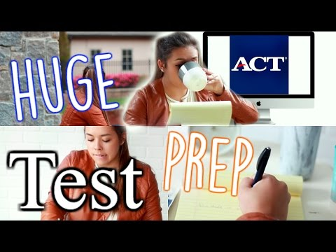 ACT and EXAM Test Prep! Tips, Tricks, and MORE!