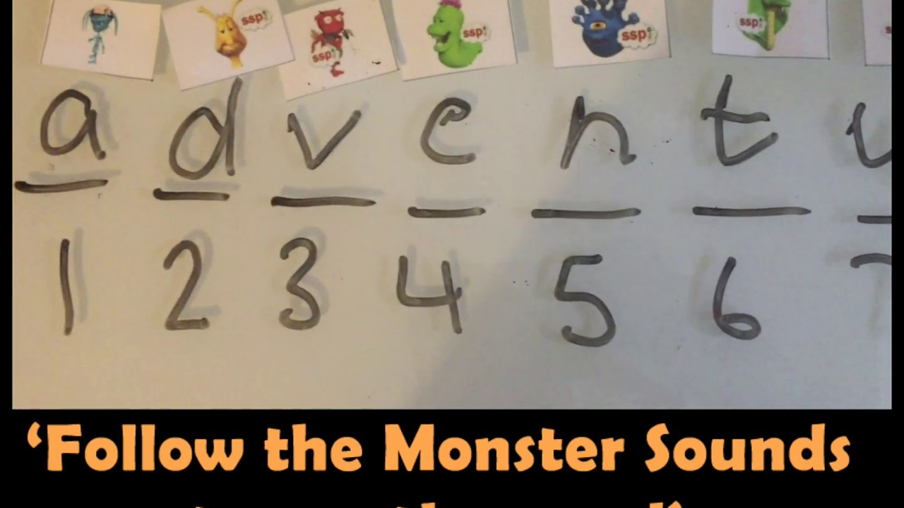 Children can read without your help!  Monster Mapping with Miss Emma