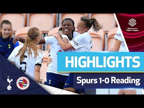 The Naz winner keeps a perfect start to the season!  FAWSL HIGHLIGHTS |  READING 1-0 SPURS