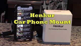 HENKUR Car Phone Mount Product Review