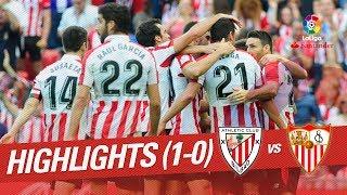 Resumen de Athletic Club vs Sevilla FC (1-0)
