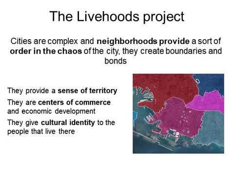 Maps of the living neighborhoods – a study of Genoa through social media   PKN Genova