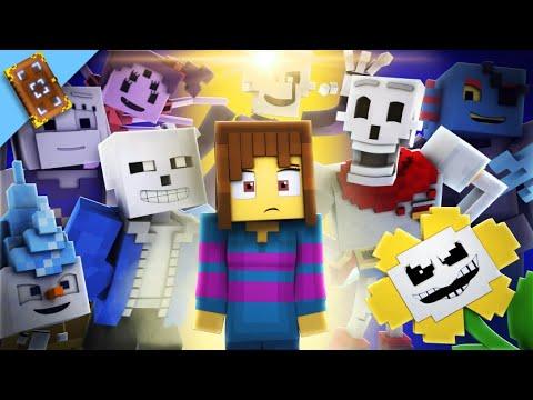 Undertale The Movie Enchantedmob Music Video Compilation Youtube