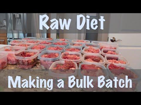 Raw Diet - Bulk Batch Making