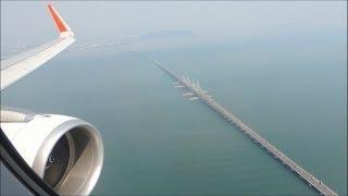 26/3/2014 Air Asia AK6116 Kuala Lumpur - Penang Ride
