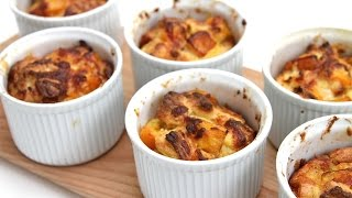Savory Bread Puddings With Sherry-roasted Butternut Squash & Brioche