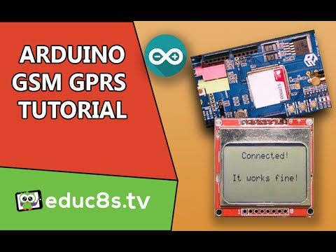 Arduino Tutorial: Connecting to the Internet using the GPRS service with a  GSM shield a Nokia 5110