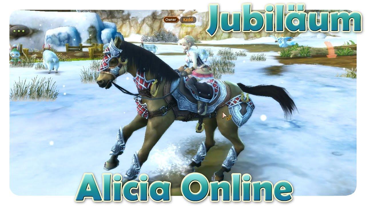 Alicia Online: Alicia-Jubiläum | CHAT-VERBESSERUNG | Lets