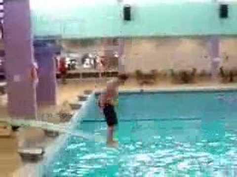 Fat pool boy