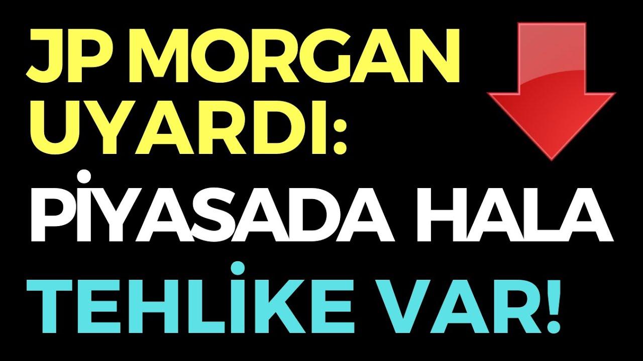 JP MORGAN: KÜRESEL PİYASADA HALA TEHLİKE VAR - EKONOMİ HABERLERİ - DÜNYANIN HABERİ 120 - 02.07.2020