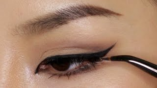 Perfect Winged Eyeliner Using Tape thumbnail
