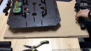 JMR-X1380 Agriculture UAV drone frame body assembling video (1)