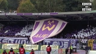 FC Erzgebirge Aue 0:0 1. FC Magdeburg 18.10.2015   Choreo & Support