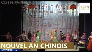 Gambar cover Des centaines de Tunisiens assistent à un spectacle traditionnel chinois