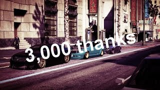 3,000 subscriber Thanks