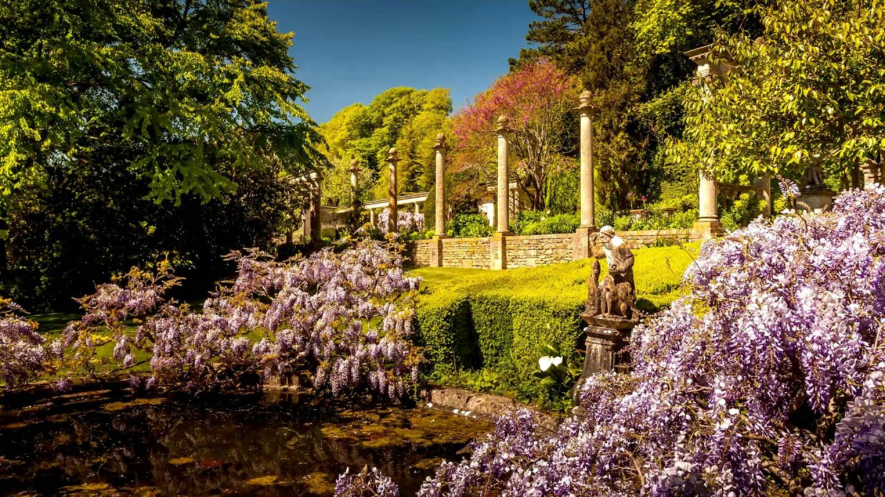 Great Gardens Of England Iford Manor Wiltshire