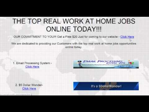 Free Real Work From Home Jobs Online 2018 work from home jobs