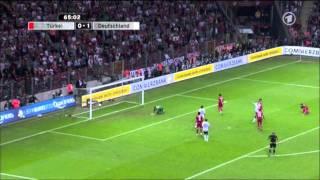 Deutschland gegen Türkei 2011 EM Qualifikation