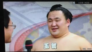 平成29年 初場所 10日目.