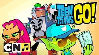 Караоке ♫ Юные титаны вперед! ♫ Школа прикола  ♫ Cartoon Network