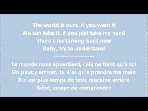 glee give your heart a break paroles traduction youtube. Black Bedroom Furniture Sets. Home Design Ideas