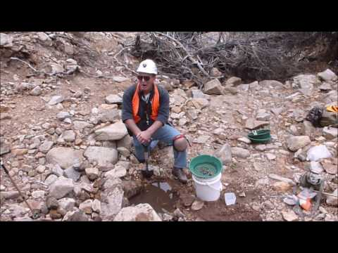 Late Season Gold Placer Prospecting