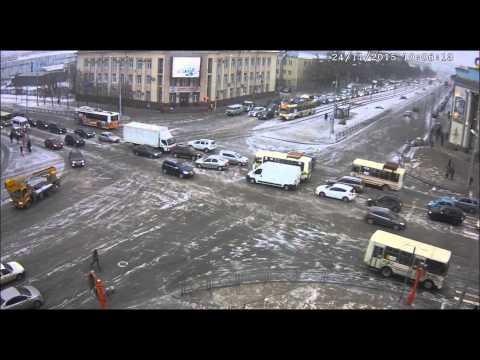 перекресток Пр Советский с Кузнецким