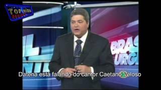 BATE BOCA NA TV - Datena, Cajuru, Luciano do Valle juntos no mesmo vídeo