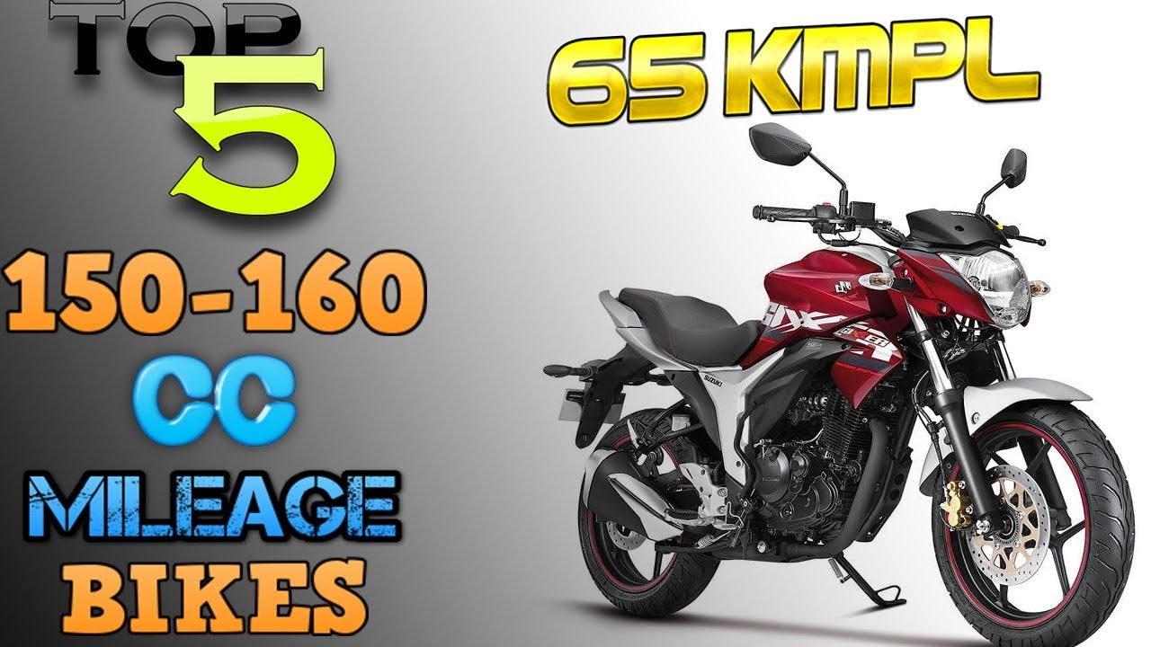 Top 5 Fuel Efficient 150 160cc Segment Bikes 2019 High Mileage