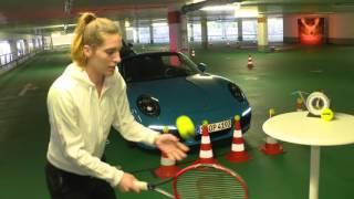 Parking Challenge with Andrea Petkovic - Porsche Tennis Grand Prix 2016